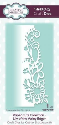 Lily of the Valley Edger Creative Expressions Die (CEDPC1039)